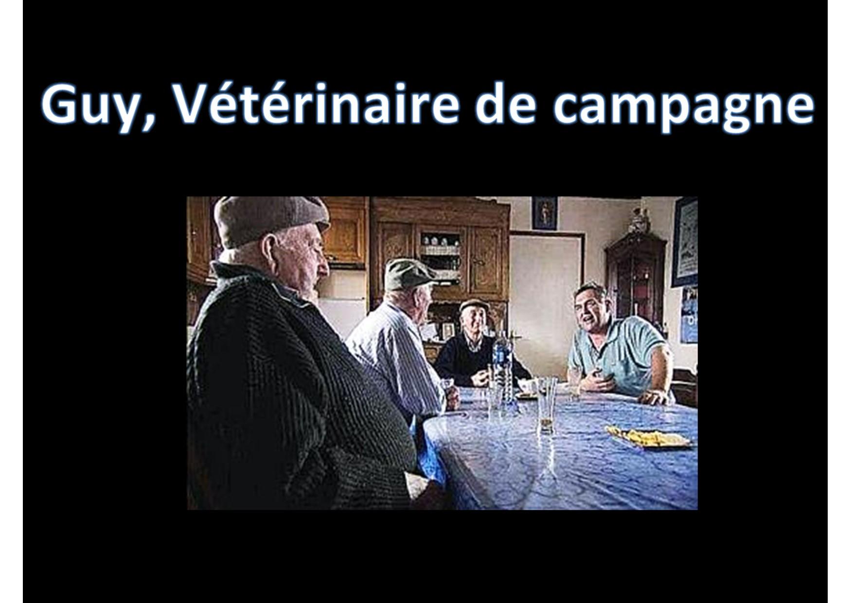 Guy veterinaire