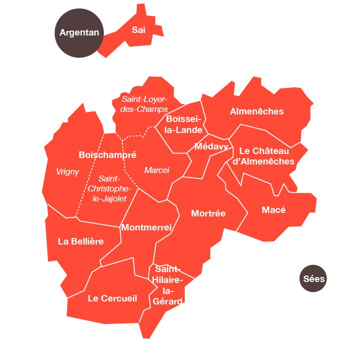 Territoire d'action 2018-2019